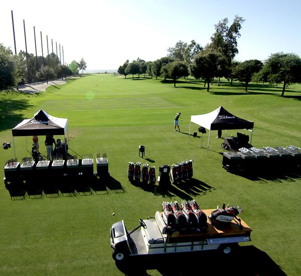 Fitting tool setup at the Titleist Performance Institute